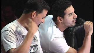 Desi Boyz Promotion At A Reality TV Show - John Abraham and Akshay Kumar - Latest Film Releases