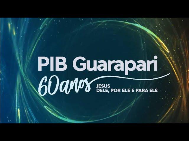 Culto Primeira Igreja Batista em Guarapari  15/10/2020 às 19h30