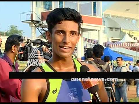 Kerala State School Sports meet : Salman Farooq wins first gold in the meet