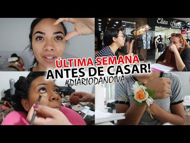 TENTEI NÃO PERDER O CONTROLE!! | GRAVEI A SEMANA TODA #diáriodanoiva ep6