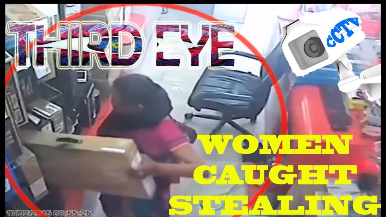 Third Eye(CCTV) -  Best Women Stealing around the world || Vines Inshortsz  ||