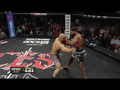 Fight of the Week: Chris Curtis Battles Will Santiago Jr. at CES MMA 42