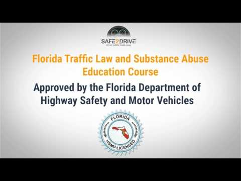 Florida Traffic Laws and Substance Abuse Education