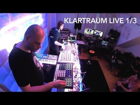 Klartraum Live Part 1/3 - Full Liveset @ Tapedeck & Akustooptik VJ Team