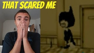Bendy in The ink Machine Chapter 1 in Roblox (Bendy Scare Me)