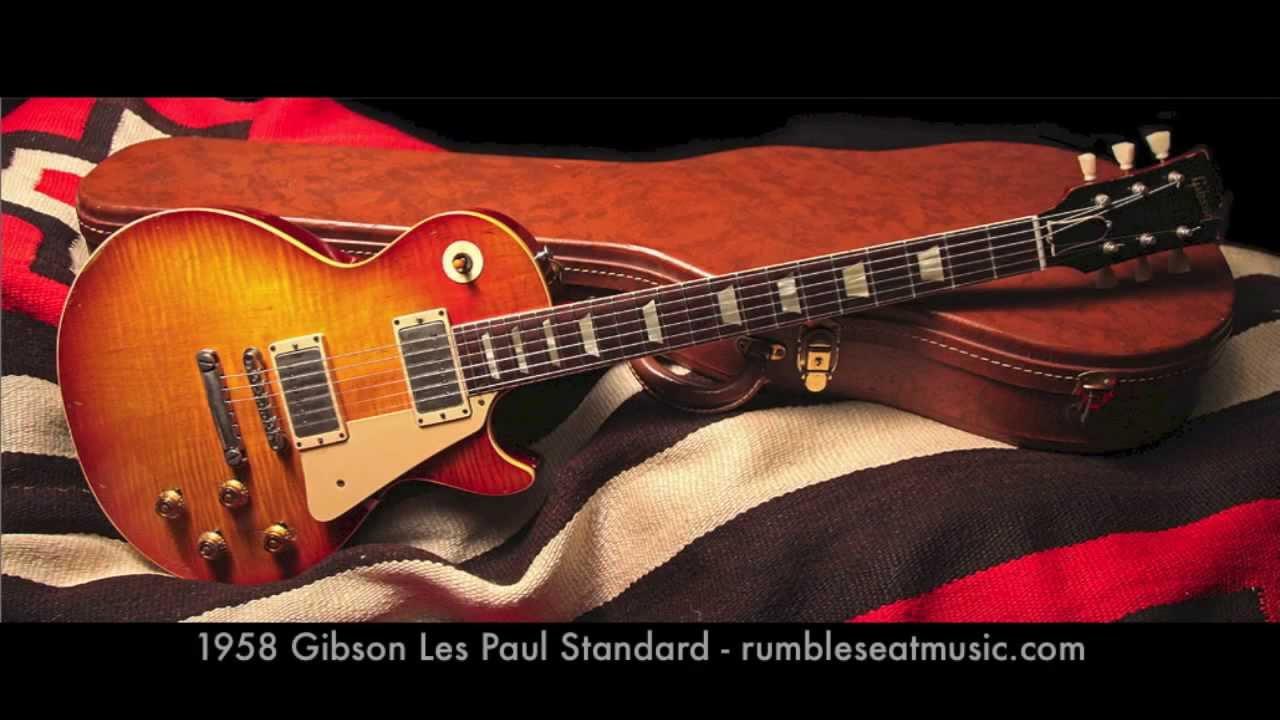 gibson les paul standard 1958 1959 1960 bursts for sale youtube. Black Bedroom Furniture Sets. Home Design Ideas