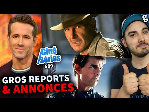 REPORTS & ANNONCES de FILMS (Mission Impossible, Star Trek, etc..) ! Nouvelles INFOS INDIANA JONES 5