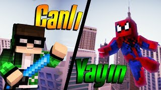 BED WARS MİNECRAFT CANLI YAYIN