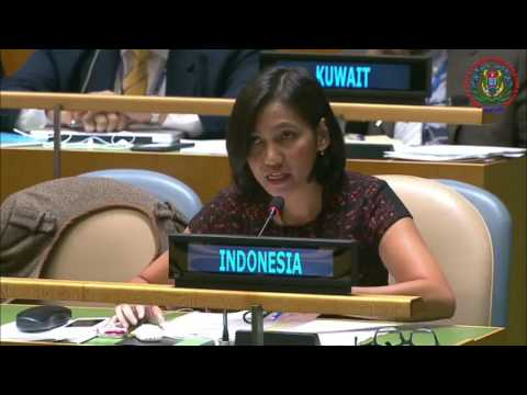 Response Indonesia to Tonga and Solomon in UNGA 2015