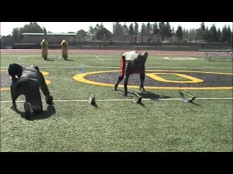 Alvin McKinley Defensive Line Workout 9/24/2009