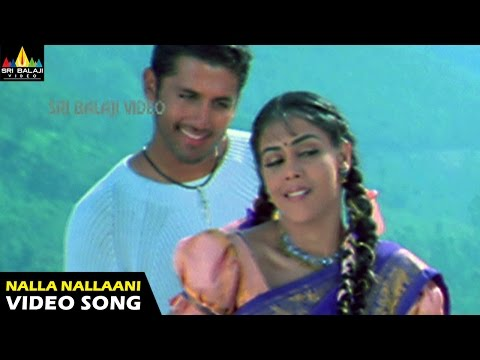 Sye Songs | Nalla Nallaani Kalla Video Song | Nithin, Genelia | Sri Balaji Video