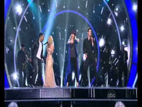 Duets: Robin Thicke, Jennifer Nettles, John Legend And Kelly Clarkson - Get Ready