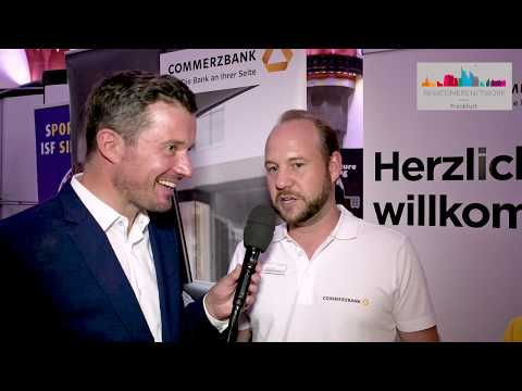 Newcomers Festival 2019: Interview Dr. Söhngen & René Dücker from Commerzbank AG