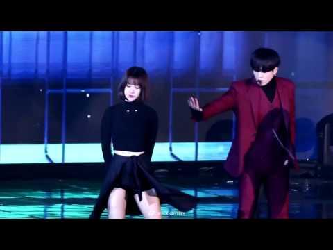 161226 [Fancam] GOT7 Yugyeom and Gfriend Eunha