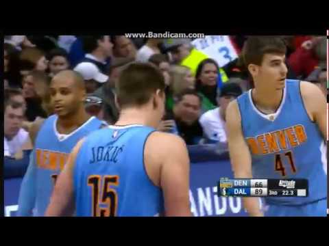 Nikola Jokic 27 Pts , 11 Reb , 4 Ast vs Mavericks - Dallas Mavericks vs. Denver Nuggets - 12/12/2016