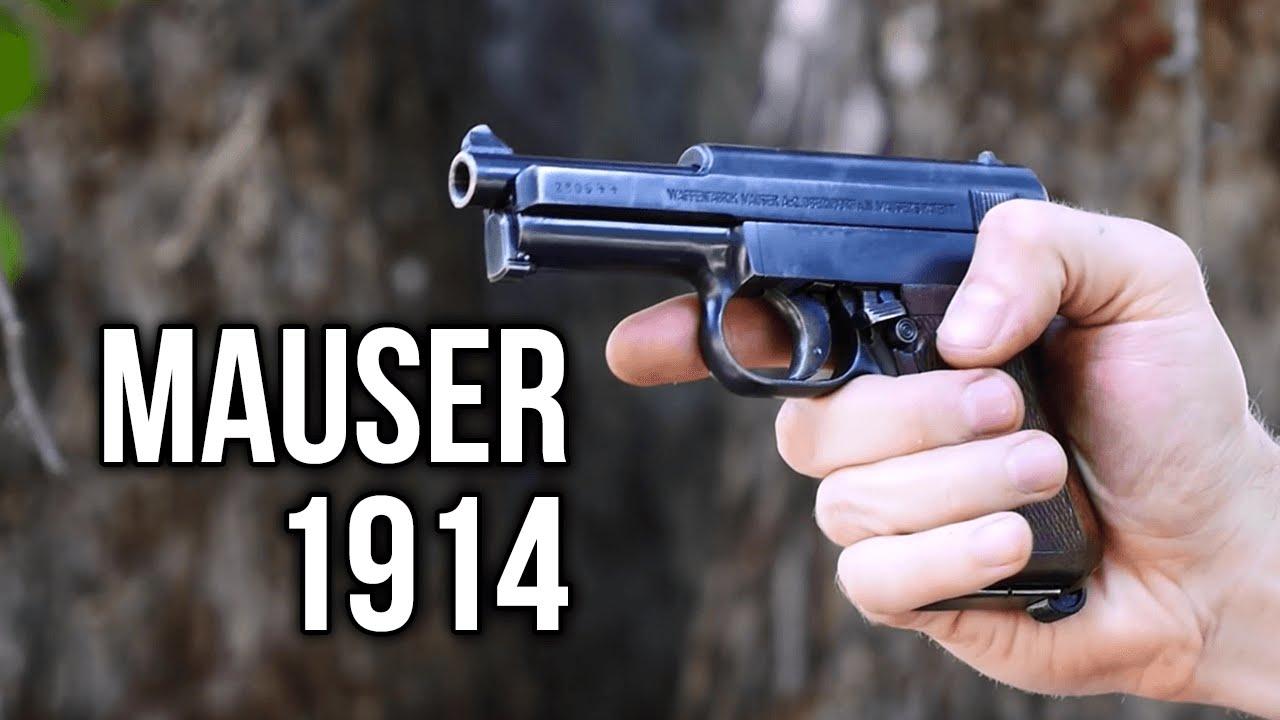 The Mauser 1914 Pistol  32 ACP