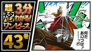 【3分で分かる!】ONE PIECE 43巻 完全ネタバレ超あらすじ!【バ、バスターコールだ!!】