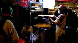 Bogotá Colombia -- Colombia Pizza Street Vendor