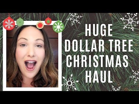 DOLLAR TREE  CHRISTMAS DECOR HAUL