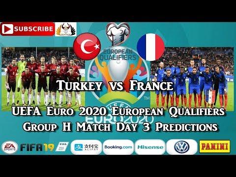 Turkey Vs France | UEFA Euro 2020 European Championship Qualifiers | Group H Predictions FIFA 19