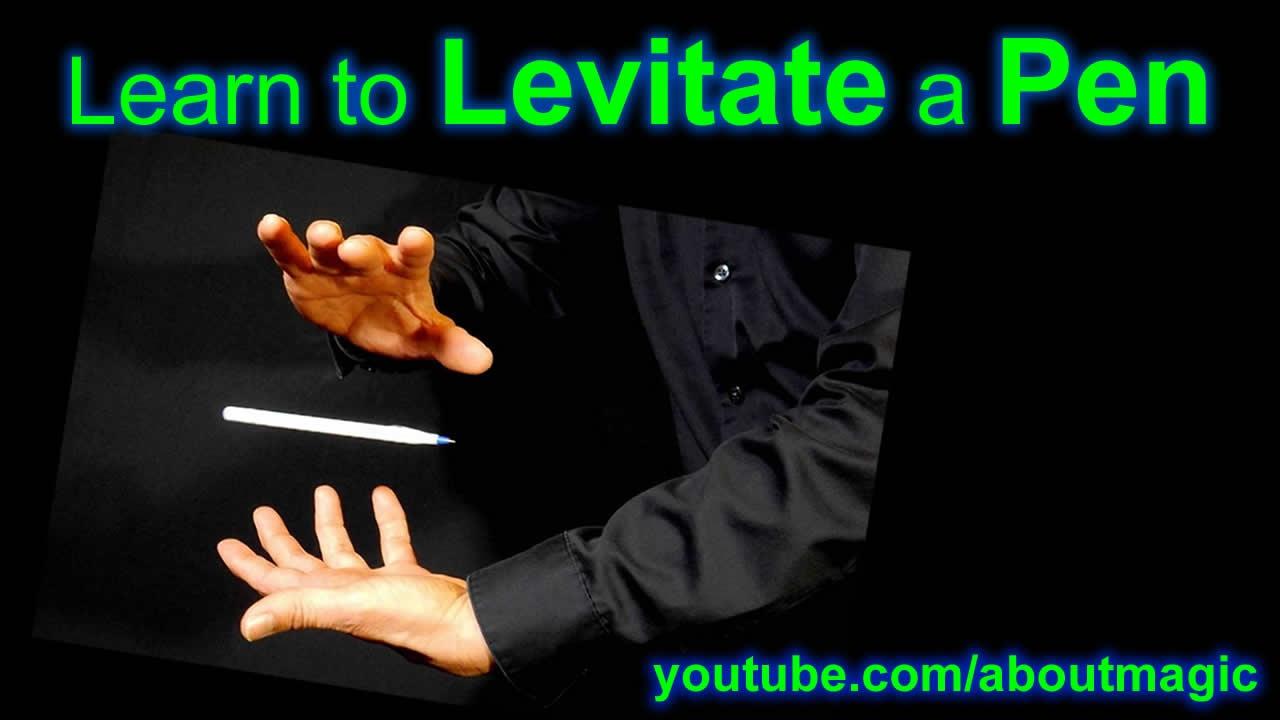 Learn The Pen Levitation Easy Magic Trick Youtube