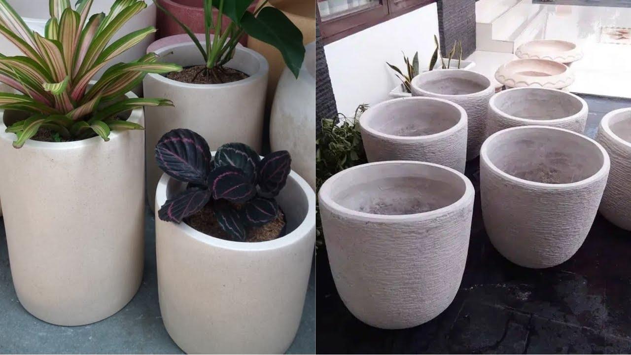 Diy Membuat Pot Bunga Dari Semen Pot Semen Taman Bunga Youtube Cara membuat pot bunga minimalis