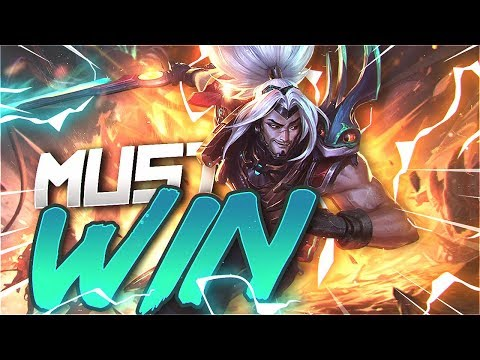 Yassuo | I HAVE TO WIN THIS GAME!!! (EUW Unranked to Challenger) [Episode 38]