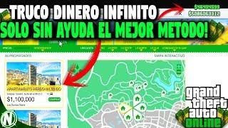 NUEVO METODO TRUCO DINERO INFINITO FACIL SOLO SIN AYUDA! GTA 5 MILLONARIO BRUTAL!
