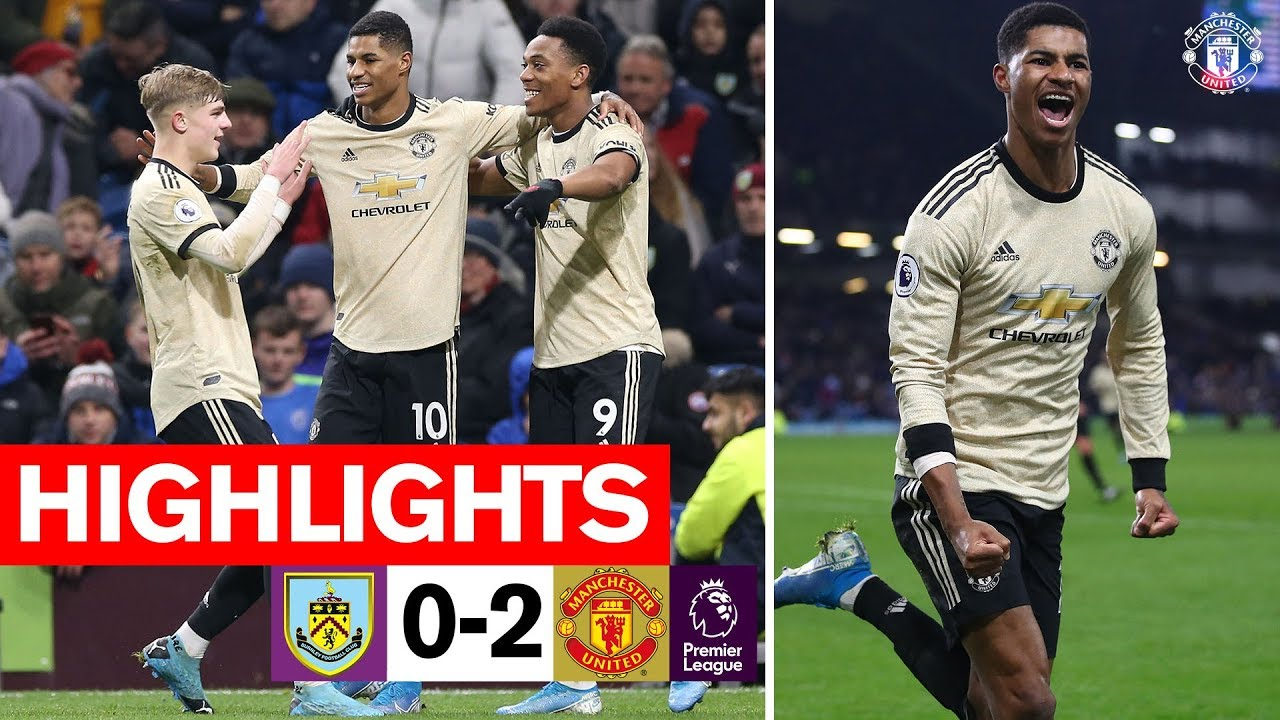 Martial & Rashford seal win for the Reds | Burnley 0-2 Manchester United | Premier League 2019/2