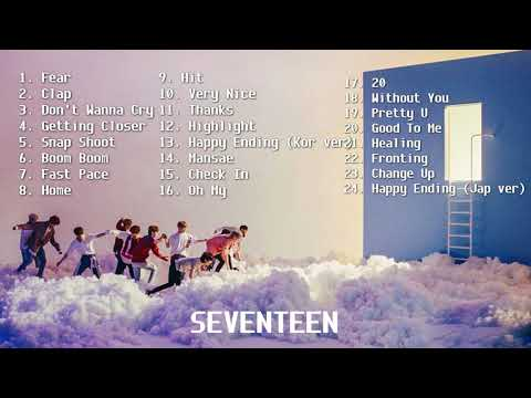 Seventeen Hype/Bop/Energetic/Upbeat Playlist