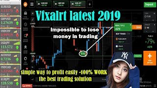 Vfxalrt latest 2019 | simple way to profit easily -100% WORK - the best trading solution