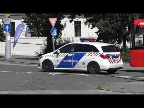 [Budapest] Rendőrség és a sürgősségi szolgálatok Budapest