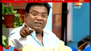 Kishor Kadam On Sets Of Chala Hawa Yeu Dya 24th April 2015