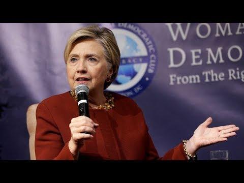 Hillary Clinton: I Lost Because I Said I'm A Capitalist