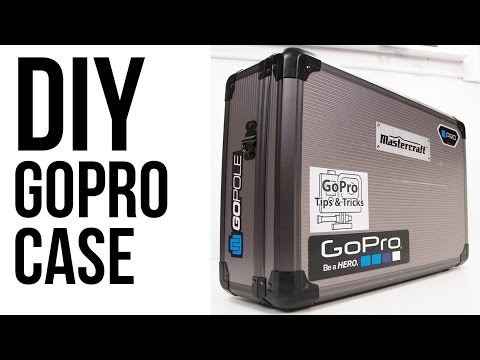 DIY GoPro Case - Hard Sided And Foam Lined