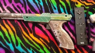 Wii Remote Inside Zapper Gun Part 3