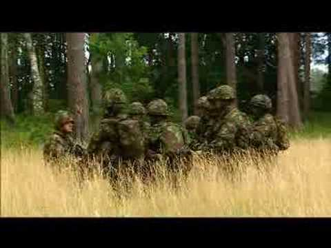 British Territorial Army Video - Soldiers