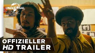 BlacKkKlansman - Trailer deutsch/german HD