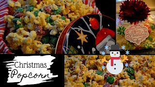 A treat perfect for Christmas Movie night I How to make Chocolate covered Popcorn