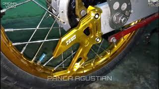 cara memasang variasi stand hook  di swing arm Vixion old 2012 bikin motor tambah ganteng👍👍👍