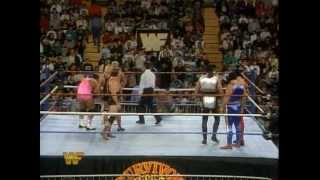 Shawn Michaels and His Knights Vs. The Hart Family 11/24/93 @ Survivor Series