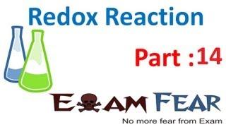 Chemistry Redox Reaction part 14 (Balance redox reaction : Oxidation number method) CBSE class 11 XI