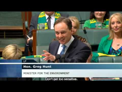 Greg Hunt sums up his time as Environment Minister