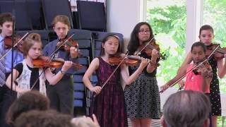 "2017 Oak Hill Strings studio Spring Recital ""Let it Go"" From Frozen"