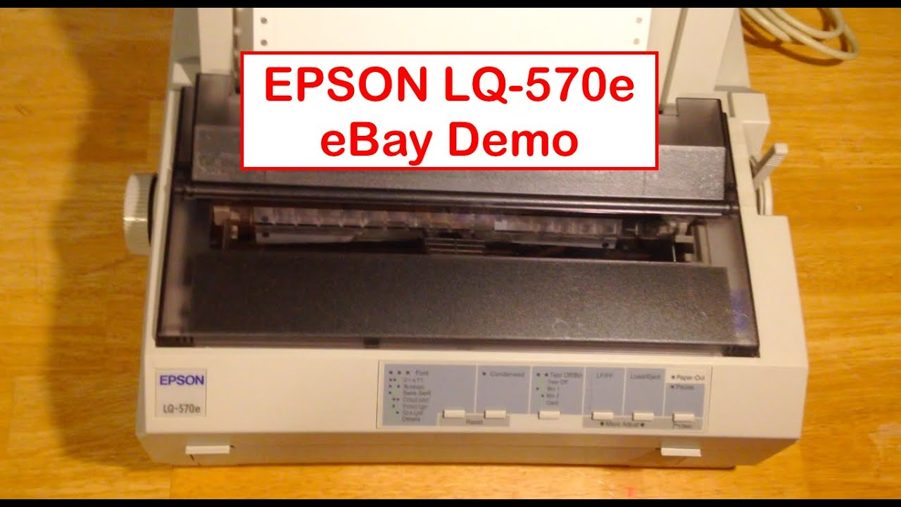 EPSON LQ-570E PRINTER WINDOWS 7 DRIVERS DOWNLOAD