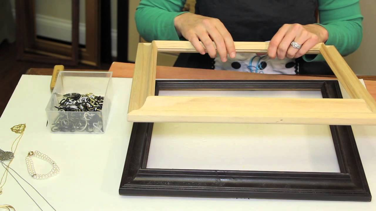How to make a display for antique jewelry picture frames picture how to make a display for antique jewelry picture frames picture frame crafts solutioingenieria Gallery