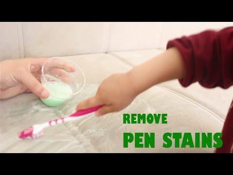 How to remove pen stains easily -  simplekidscrafts - simplekidscrafts