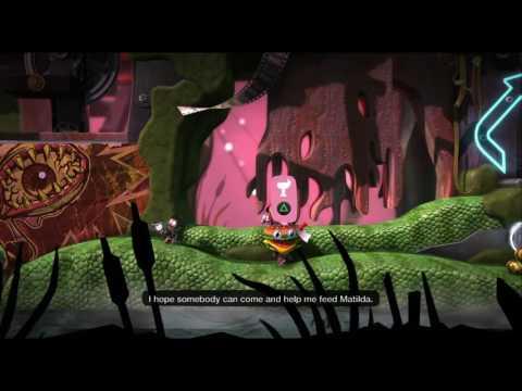 Princess Isabel playing Little Big Planet 3