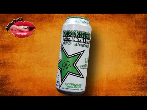Rockstar  Energy Drink Project - Cucumber Lime