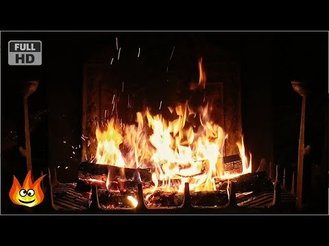 Crackling Fireplace with Thunder, Rain and Howling Wind Sounds (HD) - Поисковик музыки mp3real.ru